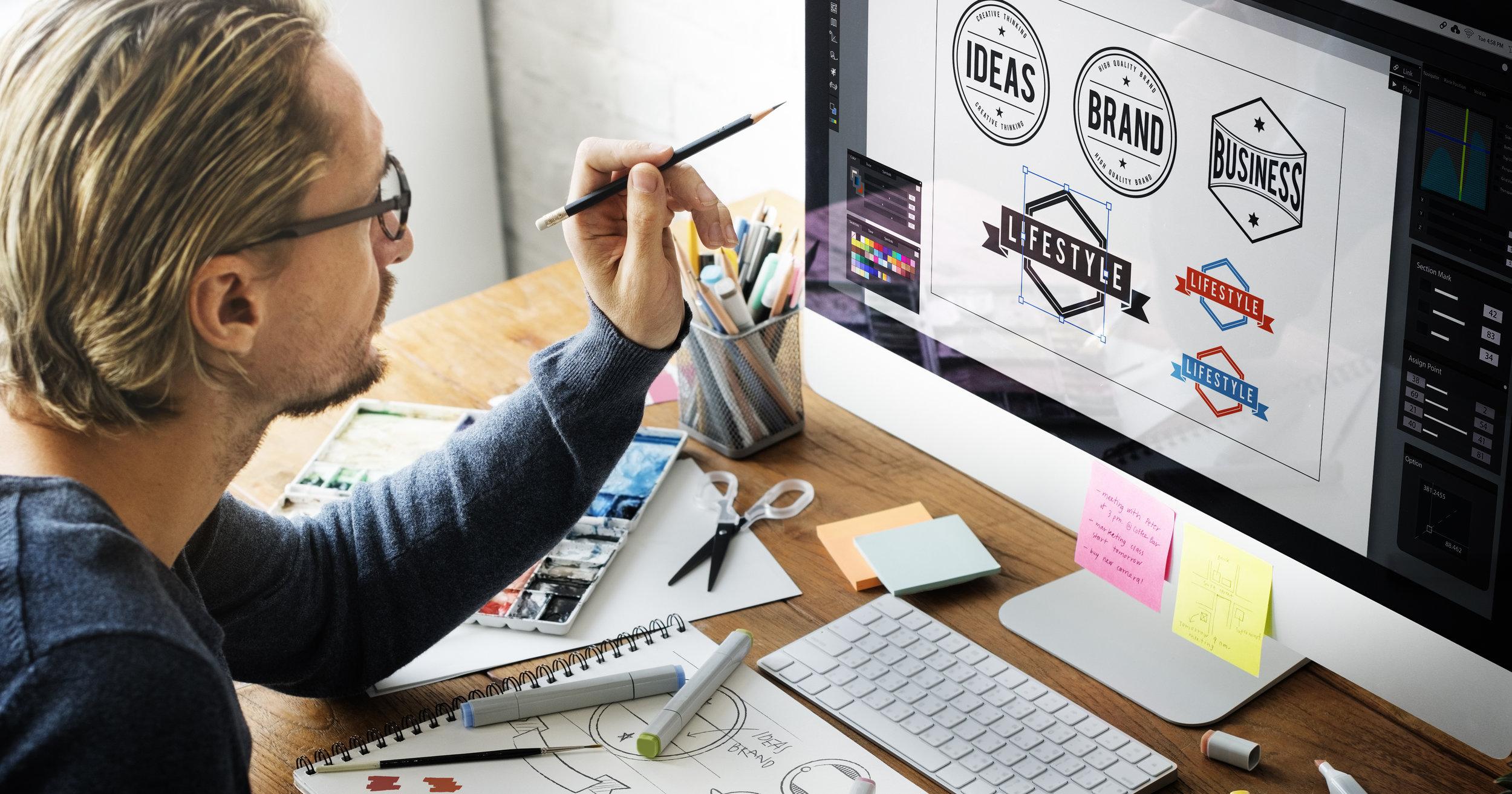 SERP Matrix Logo & Graphic Design