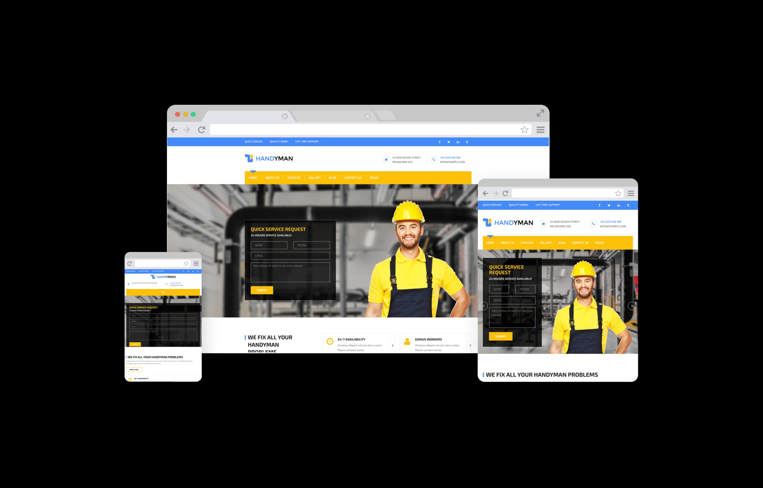 Home Services Web Design