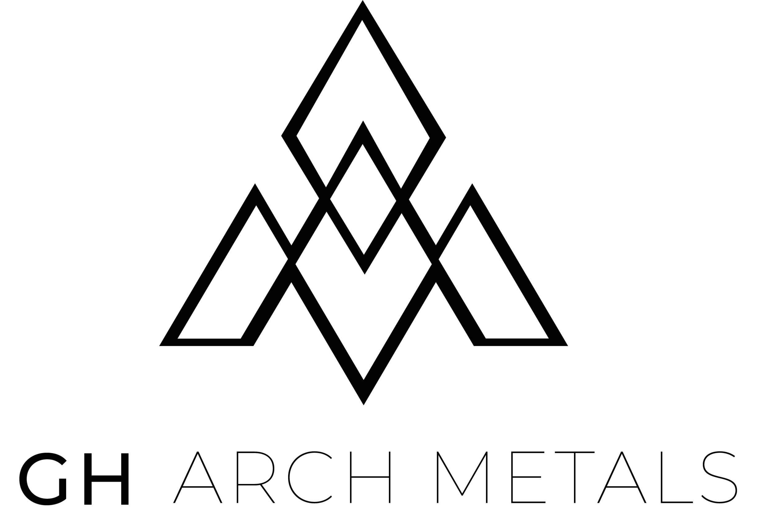 GH Arch Metals Logo Design By SERP Matrix