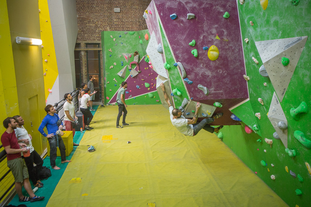 Bouldering at The Castle - Exerk 'Find Your Fun' information