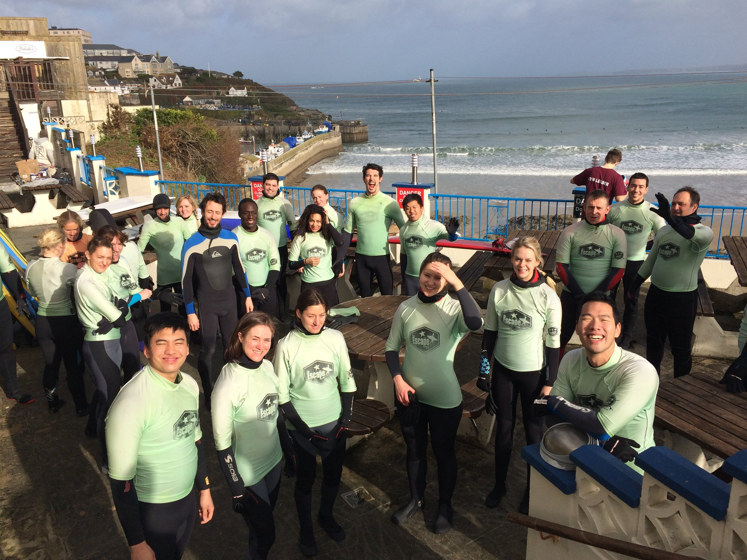 London Surfers Meetup group in Newquay