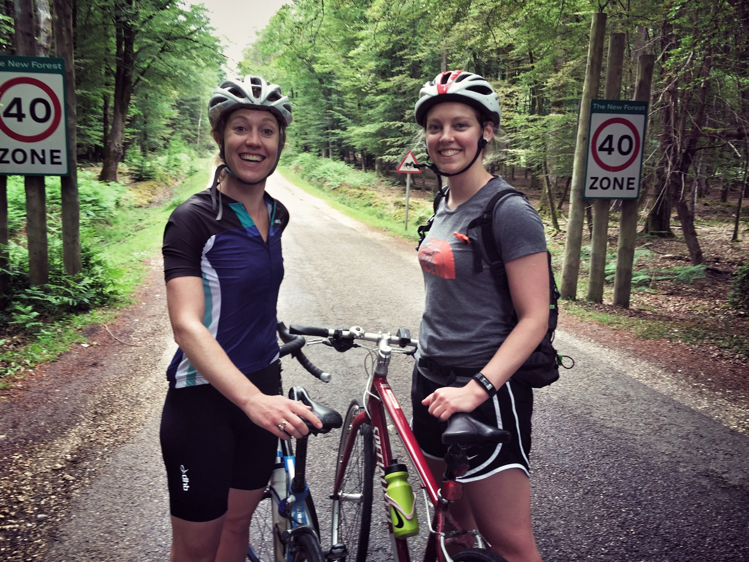 Saturday trip to cycle in the New Forest