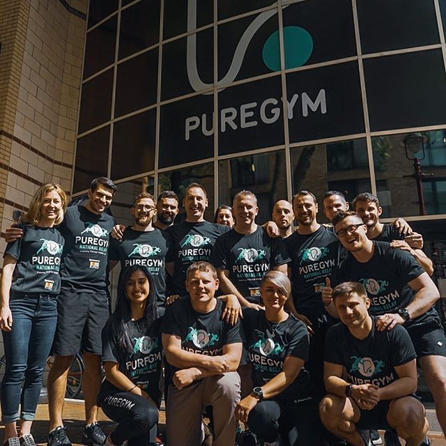 What a day with this lot! Such a privilege to be project managing the epic and awesome PureGym National Relay. Today was our regional ambassador meet-up to finalise Relay Week plans.  0ver 3,000 miles, 1,500 colleagues are coming together to travel relay style via every one of their 235+ gyms across Northern Ireland, Wales, Scotland and England, all in aid of Mental Health UK. Bring on 18th June start up in Aberdeen!! 📷 @tombaker51  #sharetheweight #charity #relay #mentalhealth #fundraiser