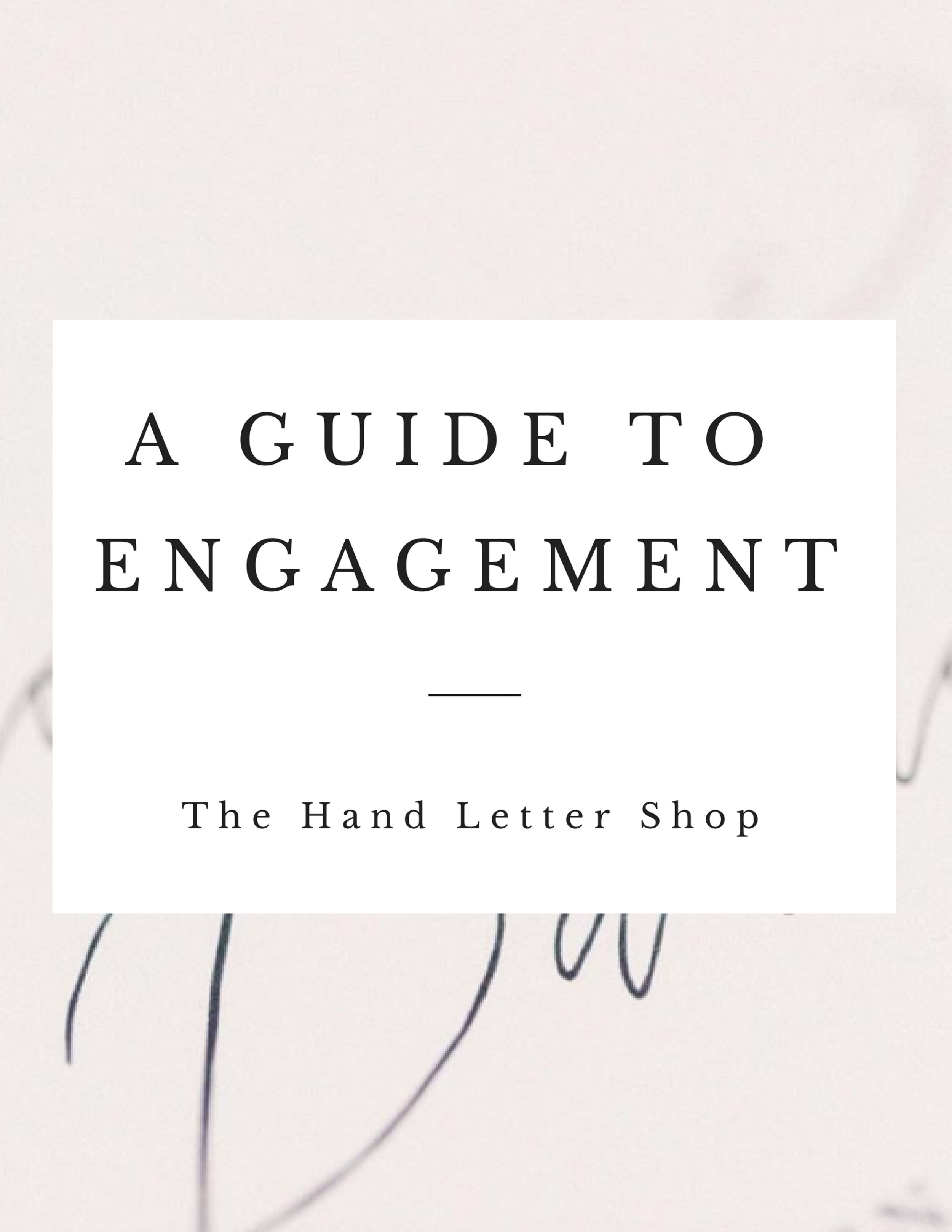 Getting married? - Congrats! Savor this time (and stay organized) with a free Guide to Engagement.
