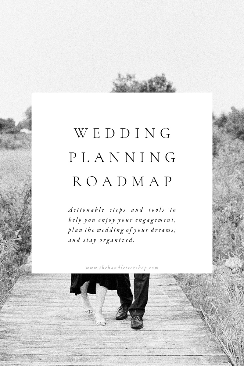 Wedding planning tips and tricks from #thehandlettershop