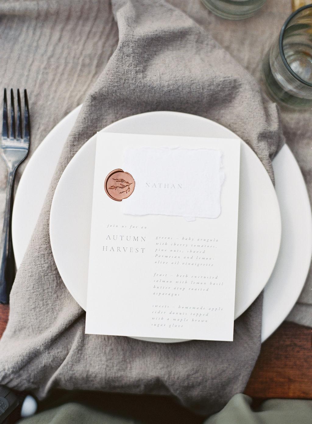Wedding invitations and stationery by Vivian Kammel.