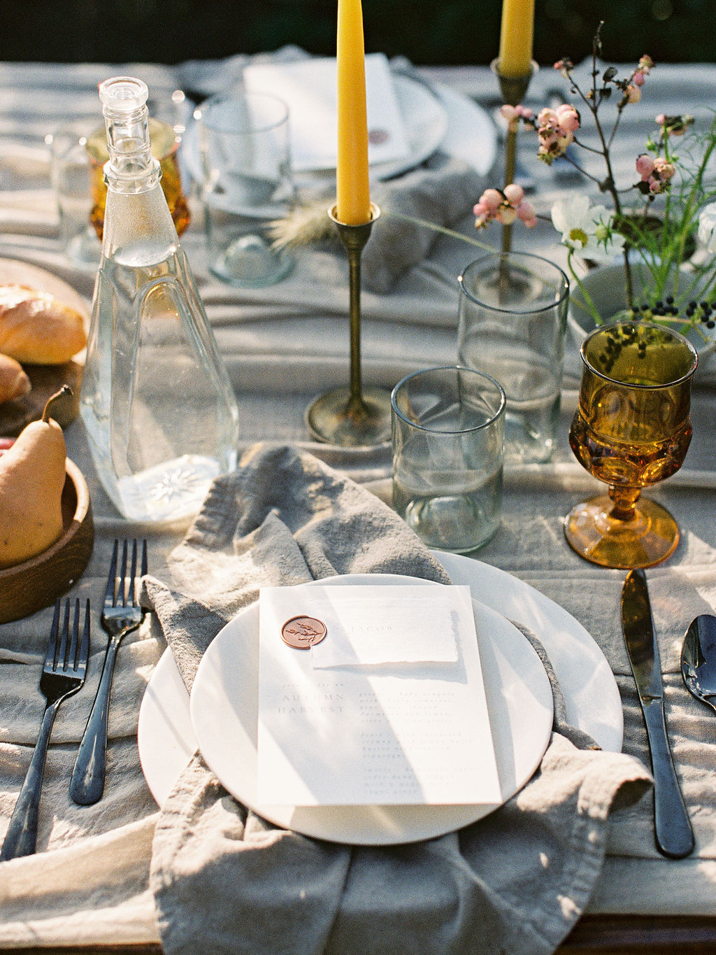 Wedding stationery for couples who are wildly in love.