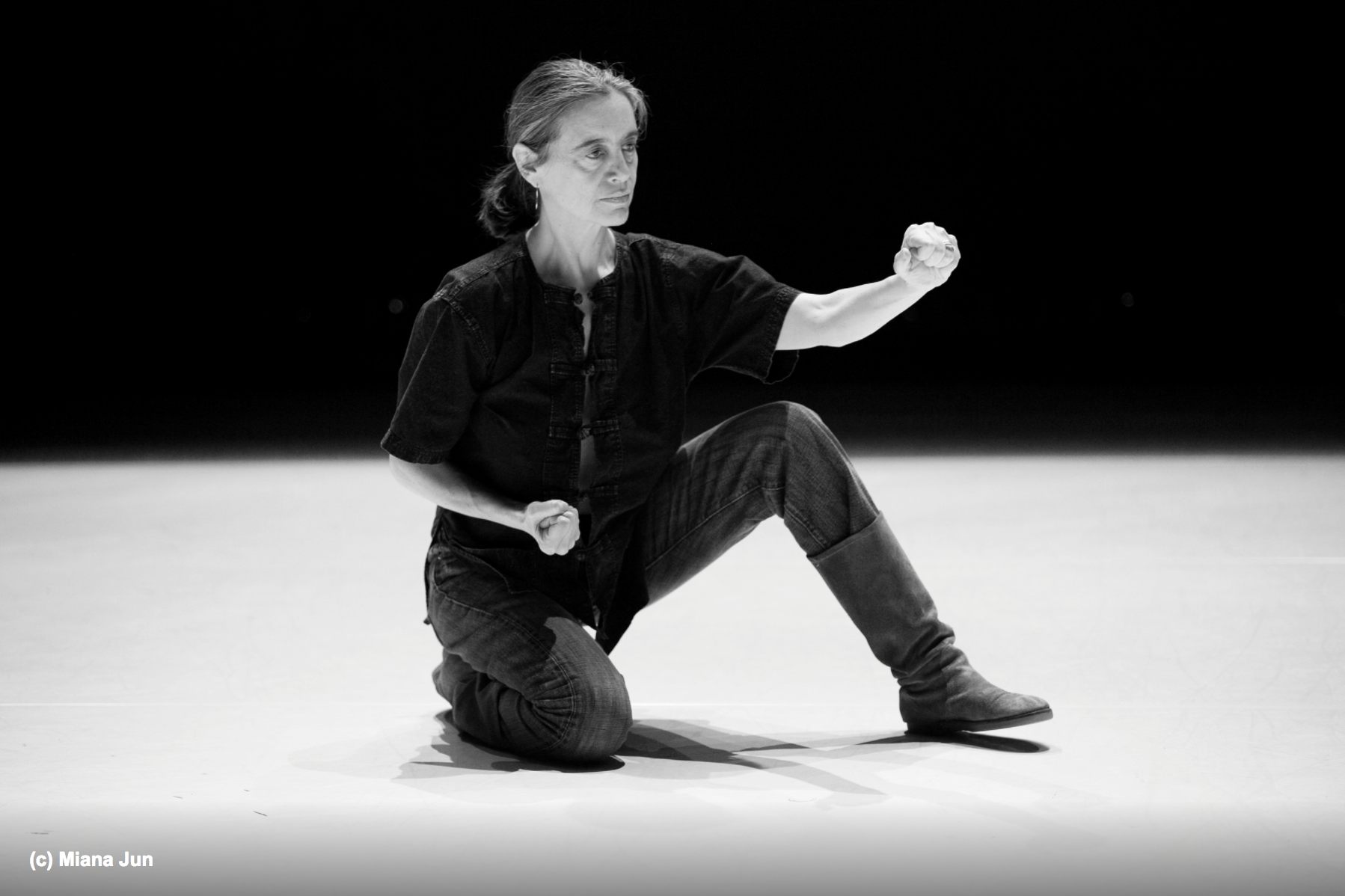 Daria Fain - Daria Faïn is an acclaimed New York director and choreographer originally from Antibes, France. Her work fuses her European cultural background with three decades of practice in Asian philosophies of the body, American dance training as well ancient Greek theater. From this, Faïn has developed a unique movement and performance approach.She has been a mentor, teacher, and spiritual guide for Elia Mrak for the past 4 years.