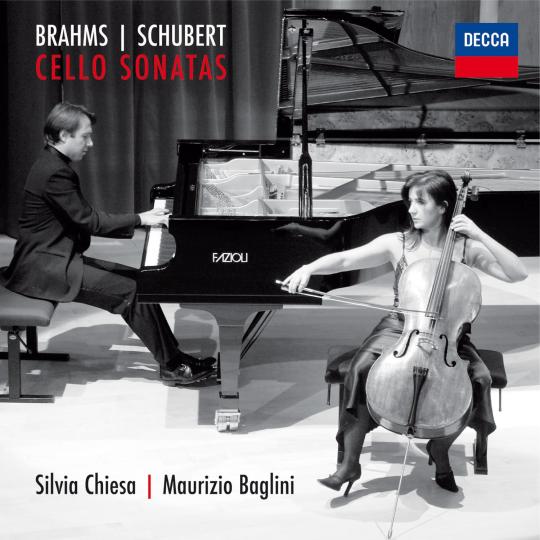BRAHMS | SCHUBERT  Cello Sonatas Chiesa | Baglini 2011 Decca 476 4422 DH DDD CD  recensioni  |  reviews
