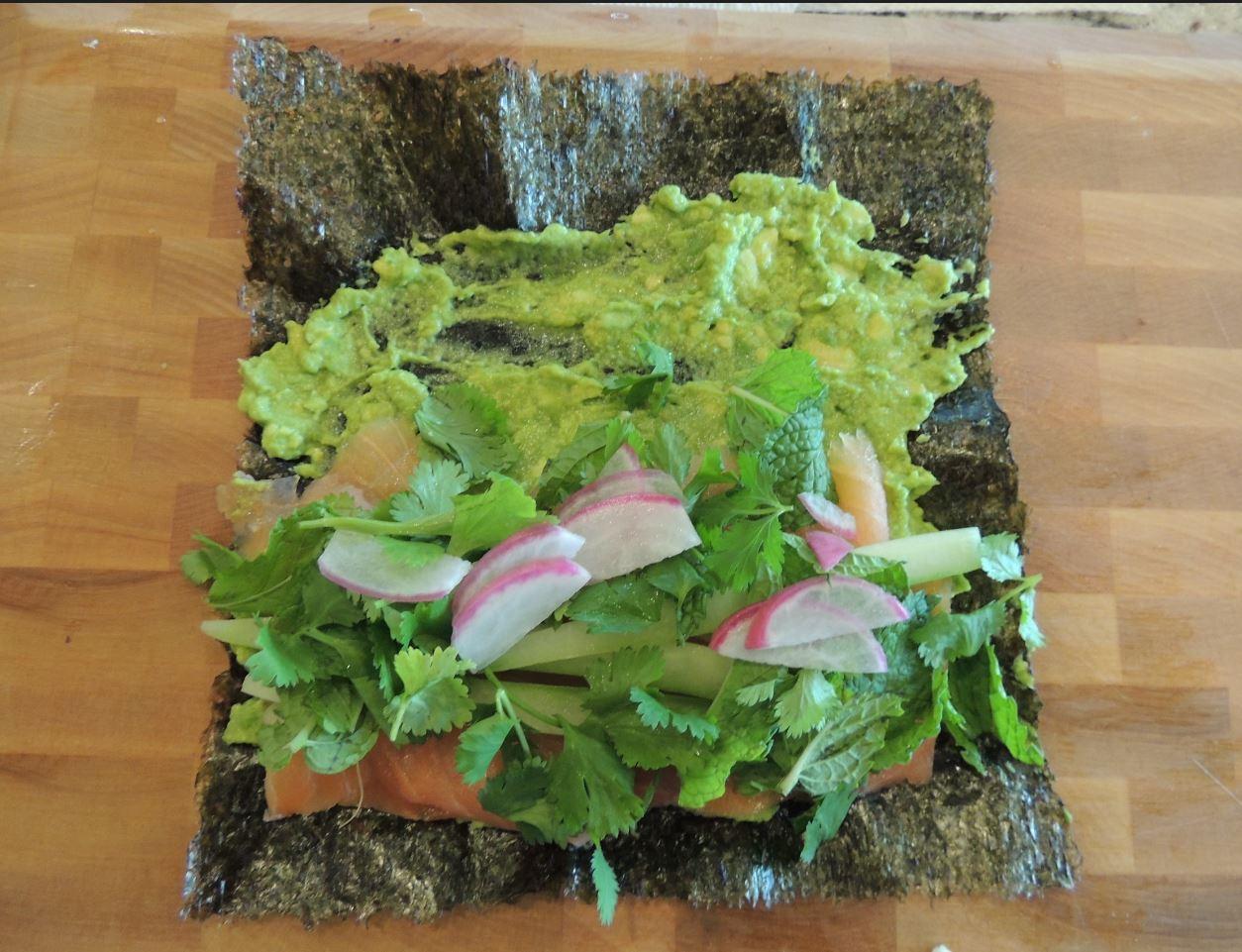 Smoked Salmon Nori Rolls with Edamame Wasabi Spread.JPG