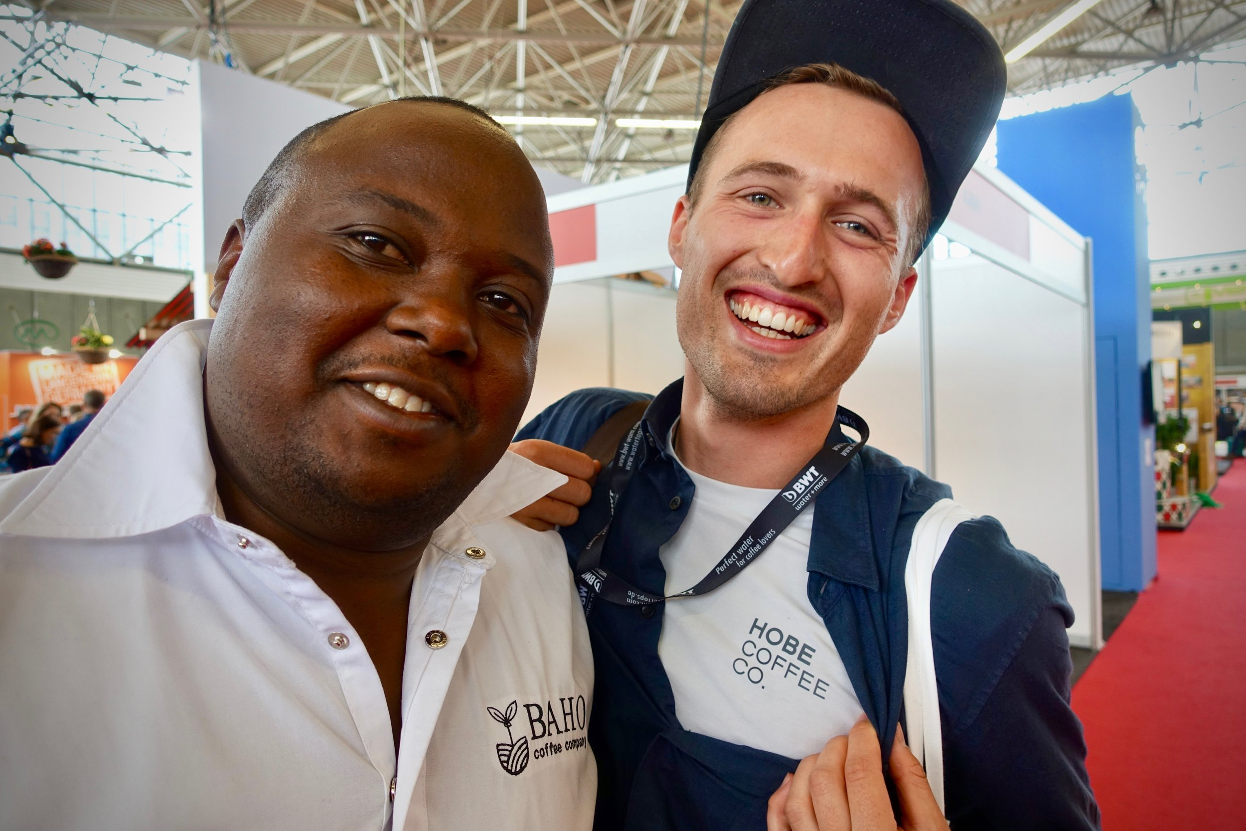 Catching up our Rwandan partners, Baho Coffee Company.