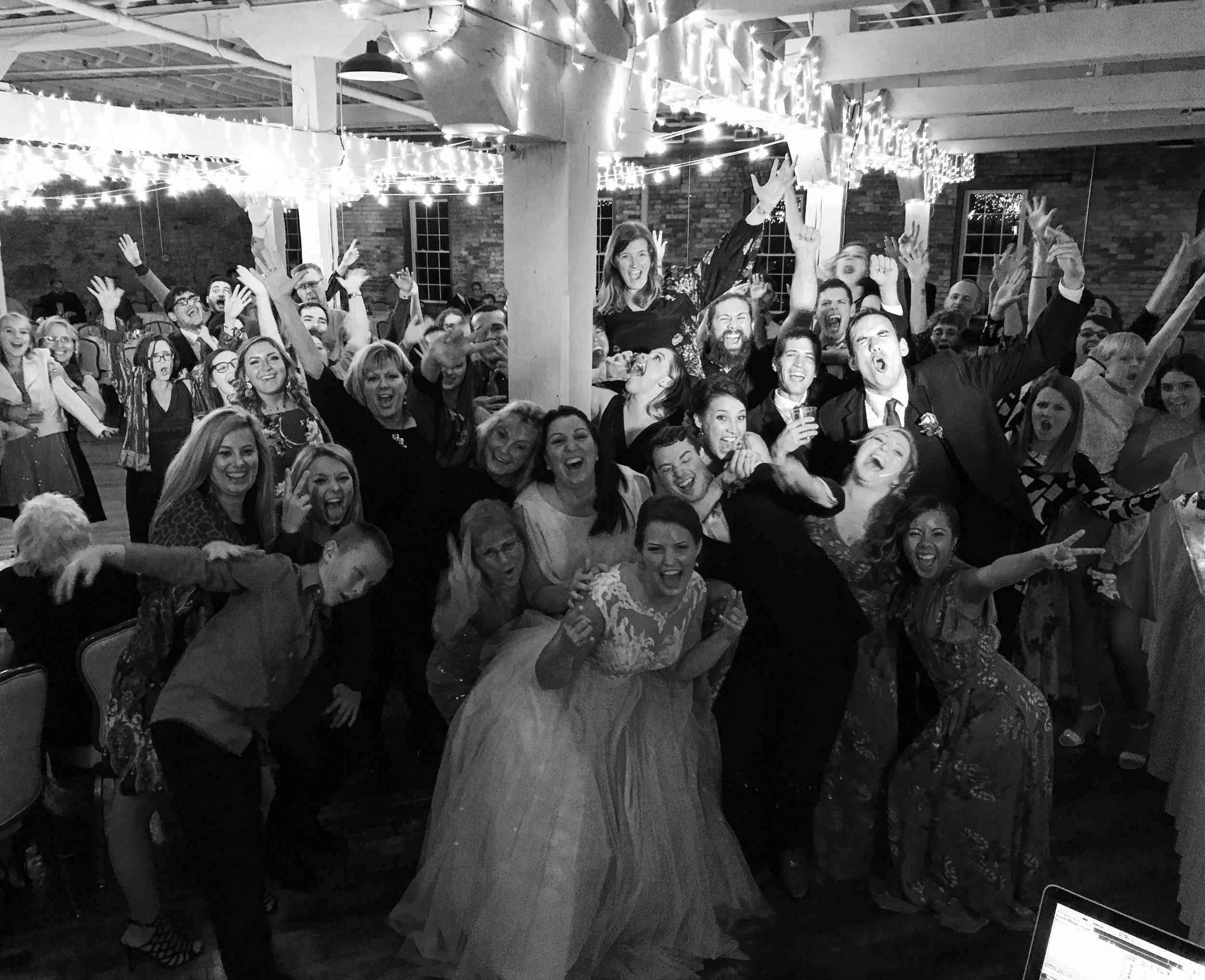 Wedding DJ at Old Bag Factory