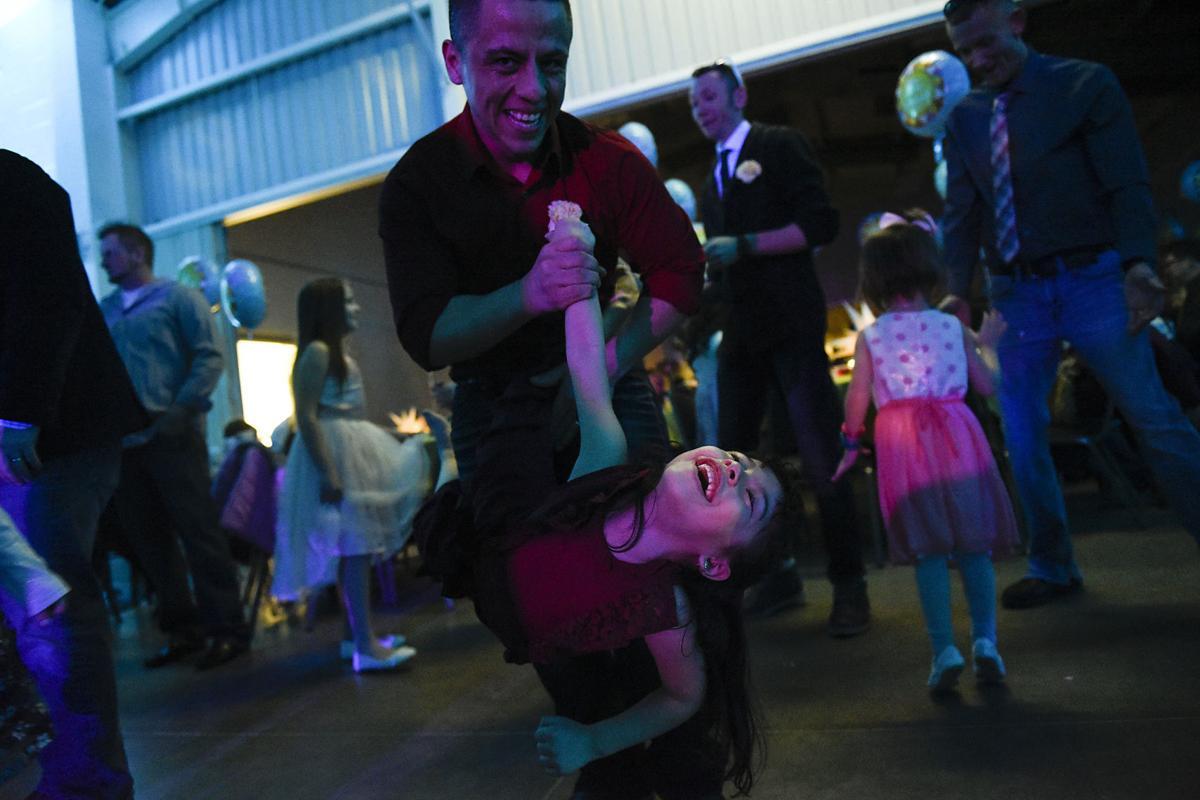 Daddy Daughter Dancing Disc Jockey