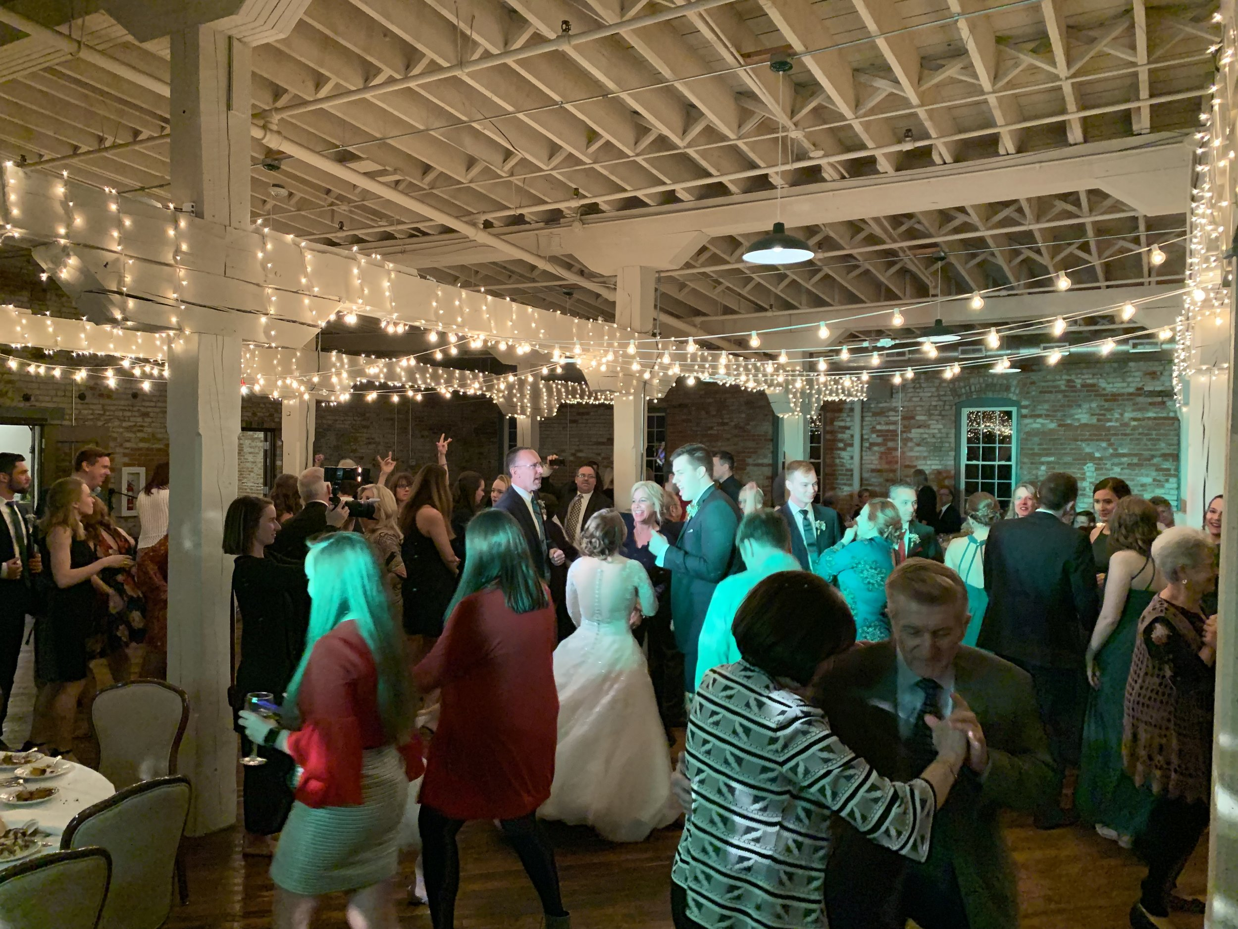 Fun Goshen Wedding DJ