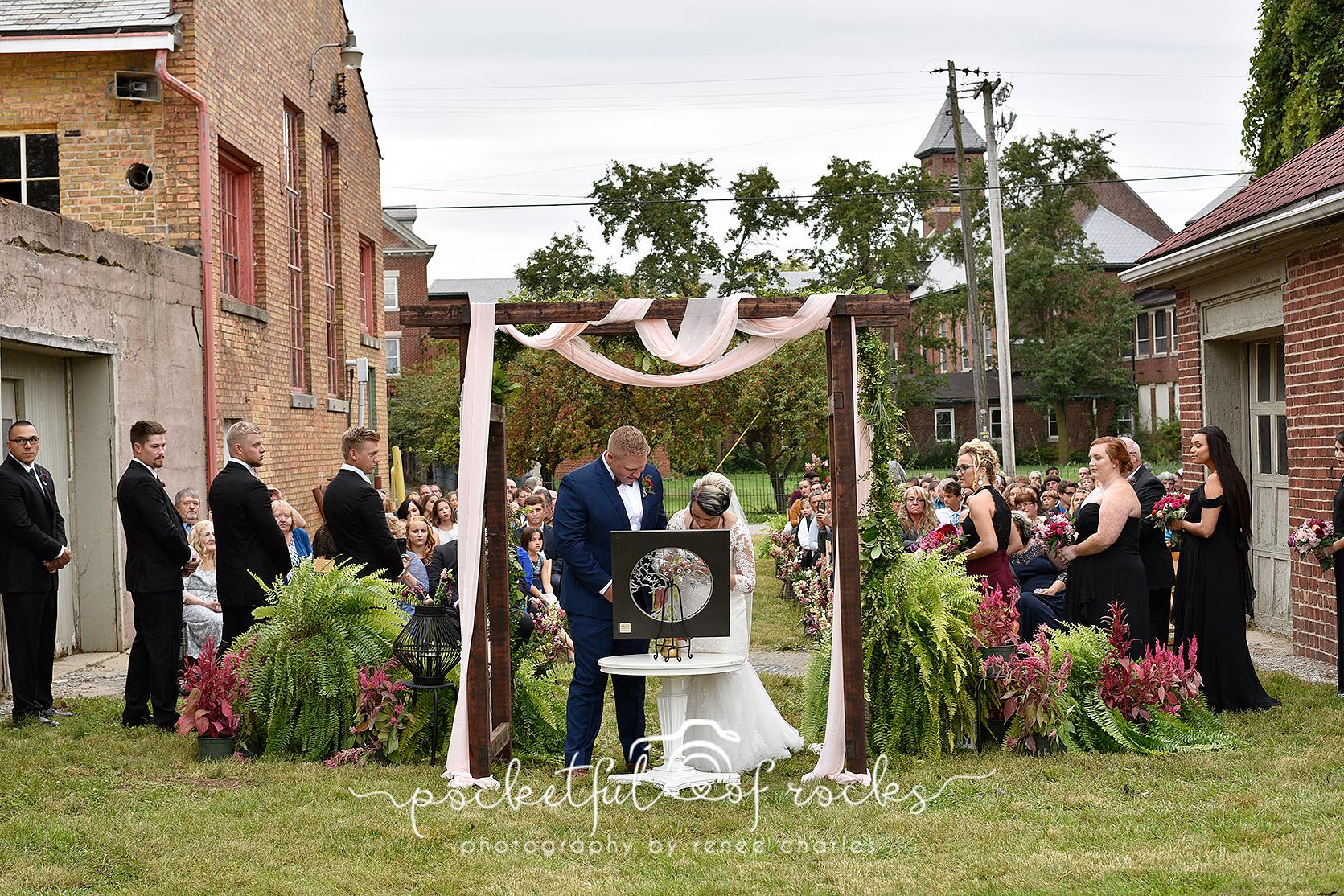 Sylvan Cellars Outdoor Wedding Ceremony
