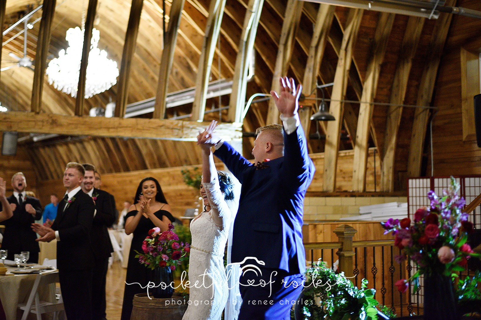 Sylvan Cellars Wedding Grand Entrance