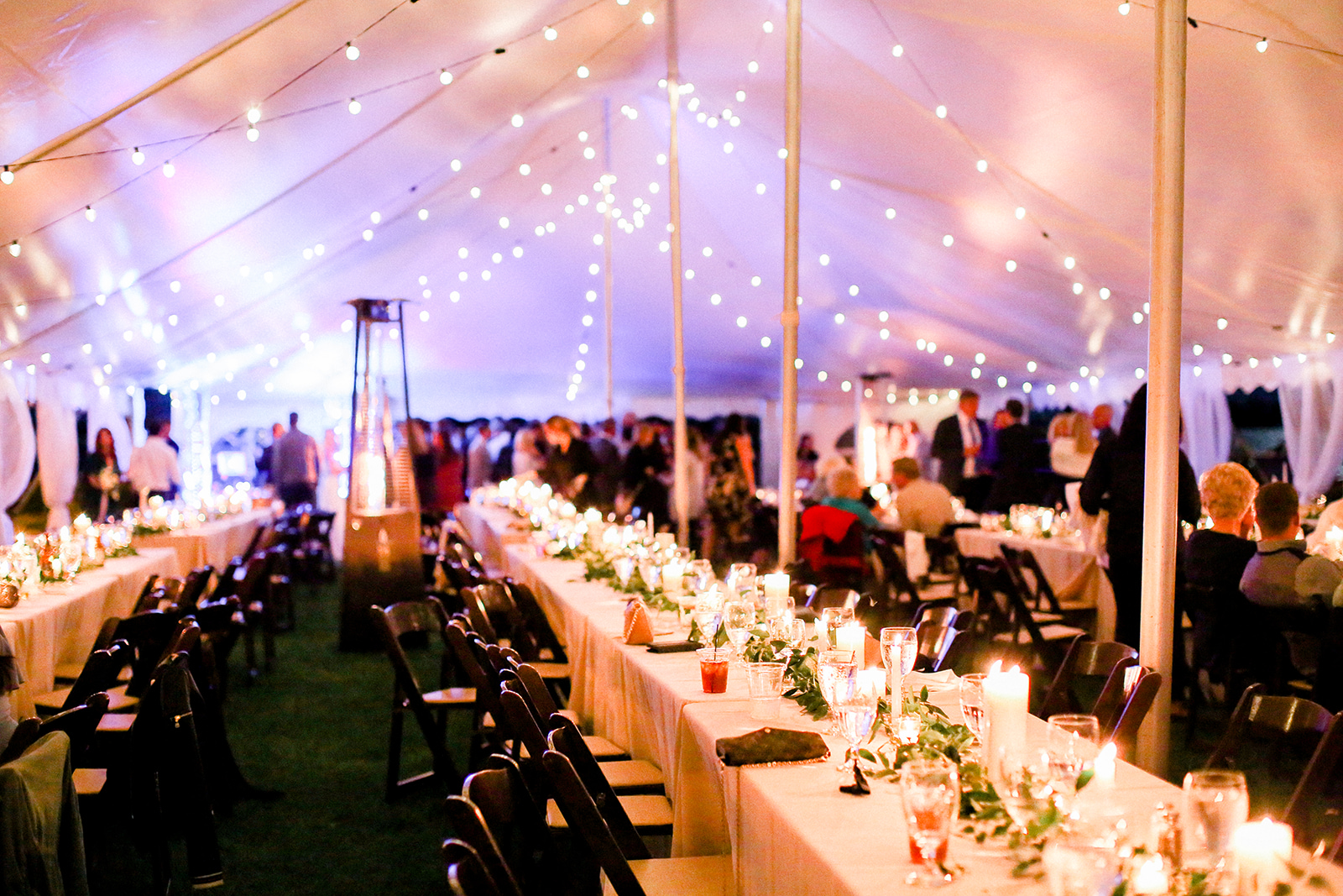 Syracuse IN Tent Wedding