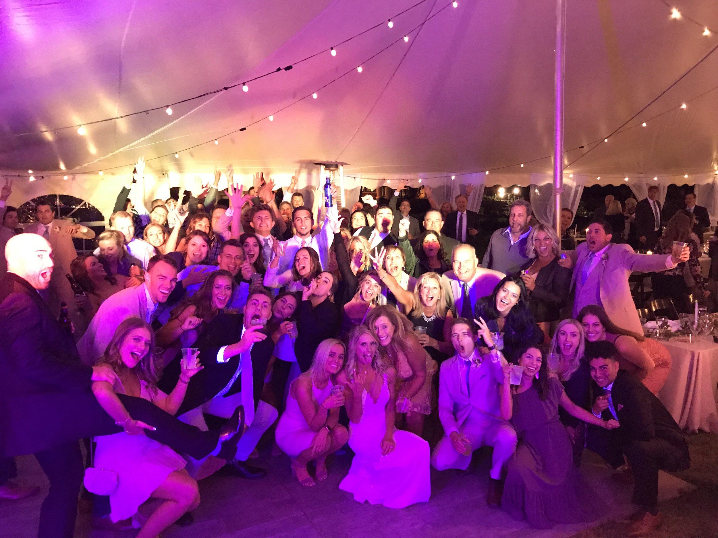 Fun Syracuse Wawasee Wedding DJ