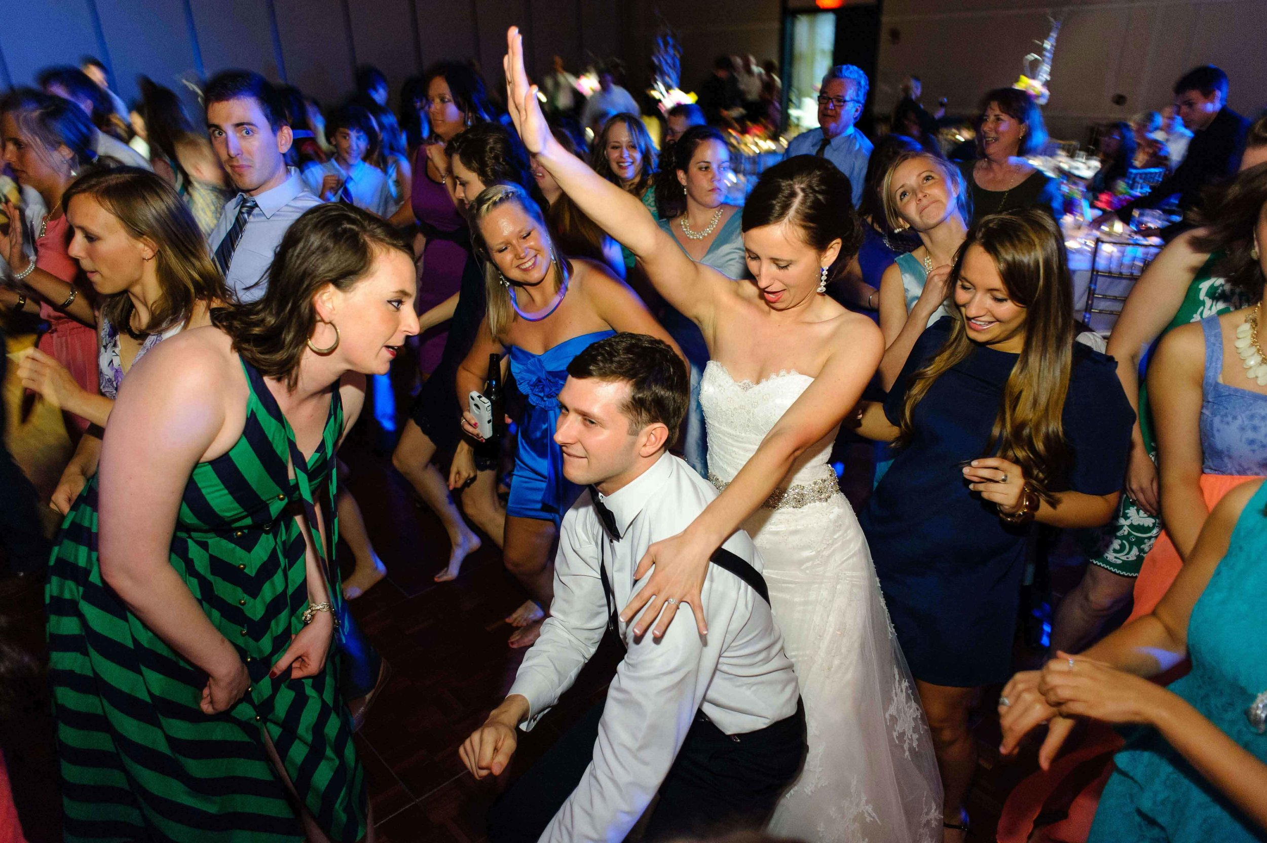 South Bend Notre Dame Wedding Reception DJ
