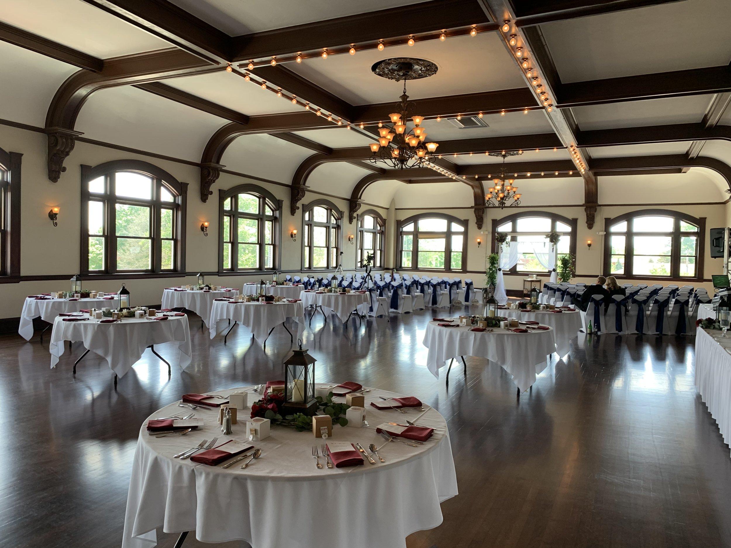 Spohn Ballroom wedding