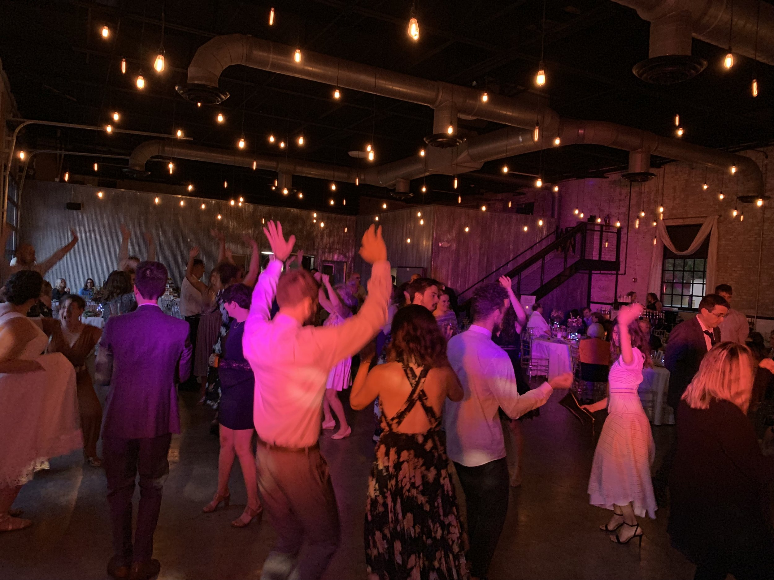 Wedding DJ at the Brick in South Bend, IN