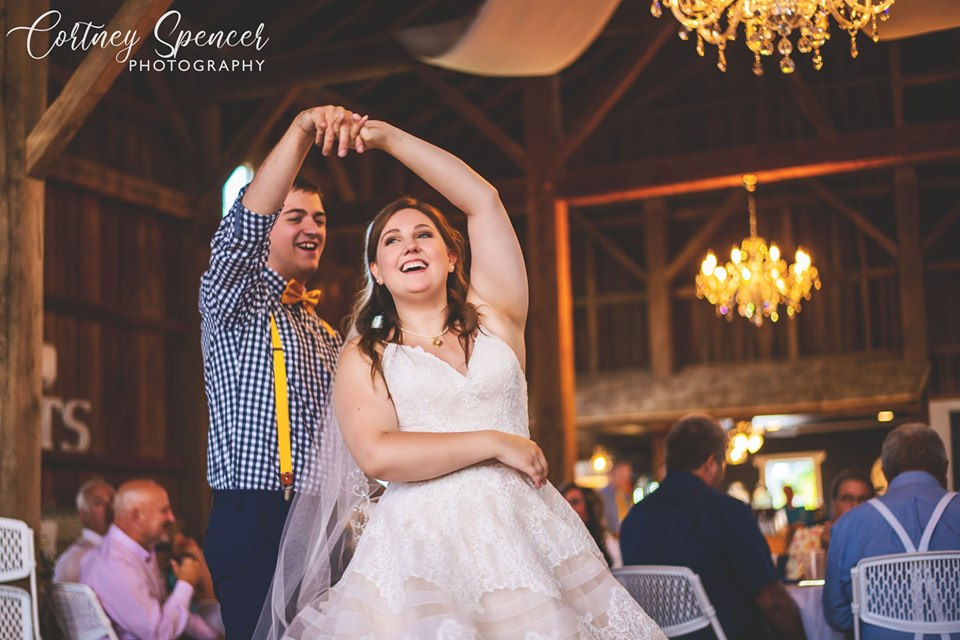 First dance at Rock Run Creek Barn in Goshen IN
