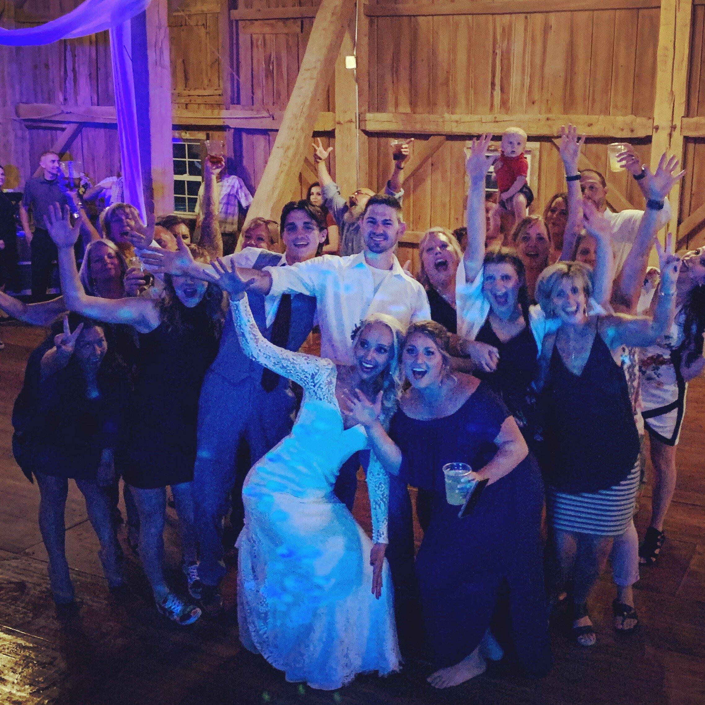 Meadow Brook Barn Wedding DJ