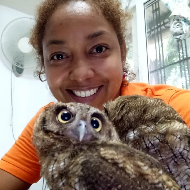 """Dr. Gloria Fonseca - Veterinarian and Clinical Mentor""""Dr. Gloria"""" is from Panama City, Panama, and a graduate of Universidad de Panamá, en la Facultad de Medicina Veterinaria. Her early career was spent working with Spay Neuter Panama, as an expert in high volume high quality spay and neuter techniques in companion animal species. She later opened her own practice in Bocas del Toro, Bocas Vet Clinic, serving the community of locals and expats. As the only full service practice in the area, she gained much experience working with wild species assisting wildlife rescues and sanctuaries. She is also an expert in the local veterinary diseases and problems commonly seen in the neotropical rainforest. Dr. Gloria still participates in spay-neuter campaigns whenever possible, and provides mobile vet care among the islands in the archipelago including indigenous villages. You can sometimes find her visiting animals living on boats! She lives near the clinic in Bocas Town with her husband Lukas, their cat Franklin, and two dogs, Samba and Sake."""