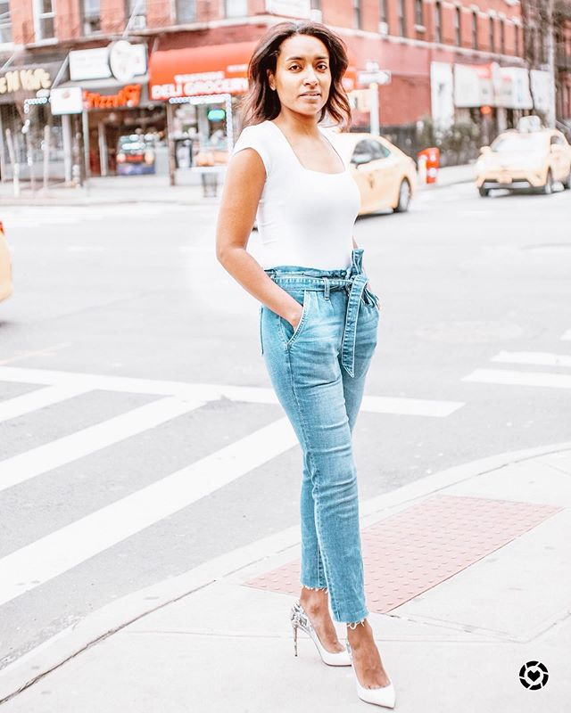 A beautiful day in the neighborhood☀️ Linked up some of my favorite bodysuits for you to shop. I just loved them with high waisted jeans. http://liketk.it/2BS6f ♥️♥️#stylingbykrys #yourfriendlyneighborhoodstylist #nycstreetstyle #lookbook #ootd #liketkit @liketoknow.it