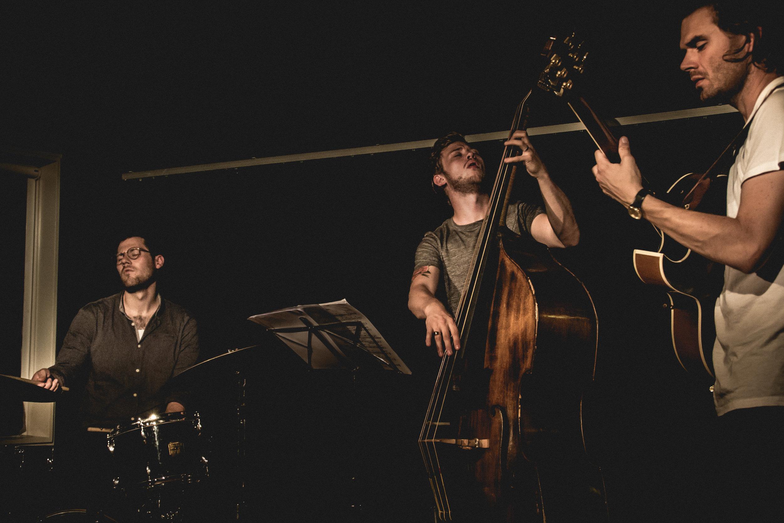 Jens Fisker Trio, Blå Festival Studenterhuset ´17