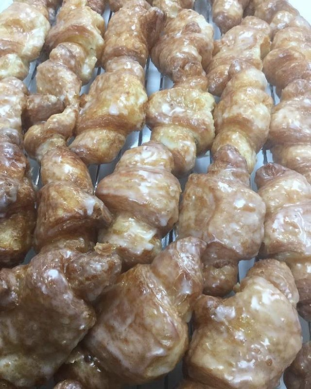 Our fan favorite.... FRIED CROISSANTS! Made fresh all day long!