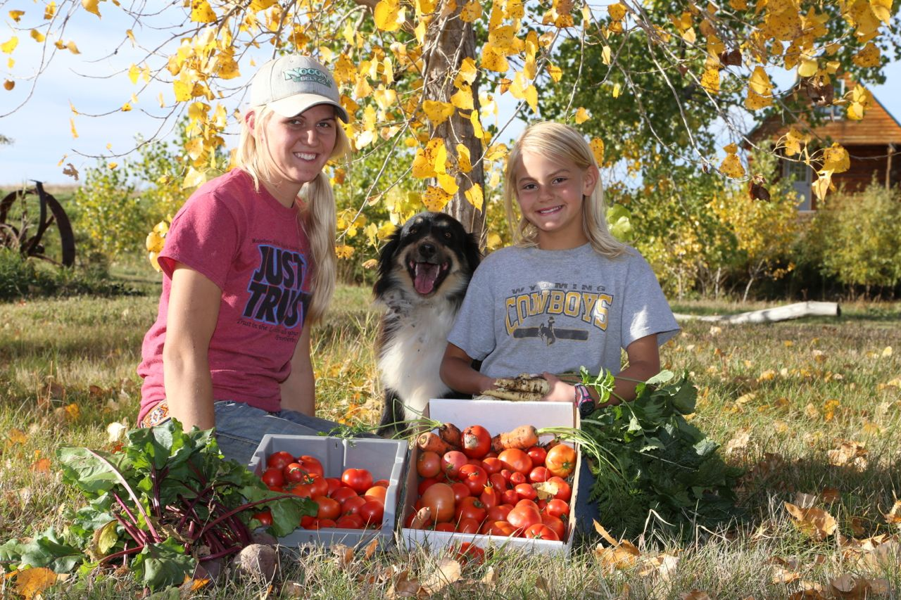 RACHEL REINHOLD - So enjoys sharing life on the ranch with kids