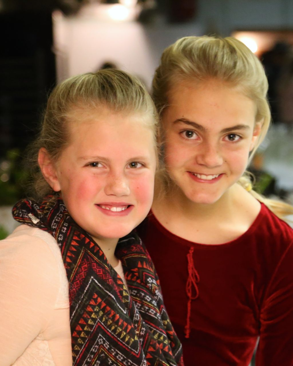 - Every banquet needs a couple of hostesses to ensure that the event goes well. Kiersten and Julia helped manage that.