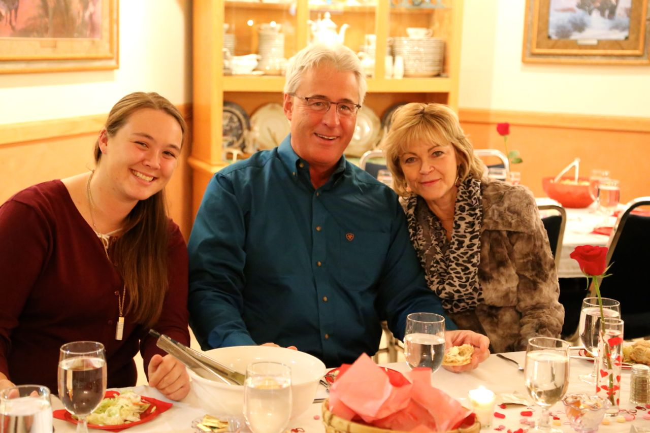 - The Henceys joined us at RBR for the banquet... They are such a good example of the many nice people in attendance.