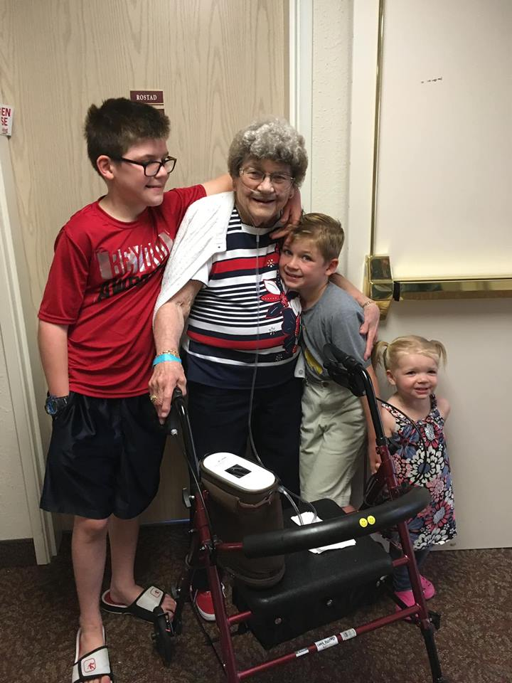 """- Charlotte """"Char"""" Rostad, 91, of Rapid City, died Saturday, February 23, 2019 at the Rapid City Regional Hospital.Char was born on July 29, 1927 in White Bear Lake, MN to Joseph and Martha (Walta) Petrak. She grew up on the family farm near White Bear Lake in the house her grandfather built on the farm. After the farm was sold, the house was moved into town. She graduated from White Bear High School.She married Douglas Rostad on April 22, 1950 in Lake Vadnais, MN. They moved to Rapid City in 1956 where Doug began his career at Westside Hardware in Baken Park.Char began working at C. P. Claire Electronic as an inspector supervisor, moved onto the accounting department at Rushmore Mutual, retiring after many years. During her retirement, she worked part time at the Westside Family Thrift as a """"sample lady"""" for 15 years. Known as """"The mentor to all of the store managers"""".After Doug passed away in 2007, Char moved into the Holiday Hills Retirement Community.Char is survived by her children; Curt (Jodie) Rostad, Fountain Hills, AZ, Craig (Laurie Dean) Rostad, Florence, KY and Gail (Ed McGee) Biers, Keystone, 7 grandchildren and 3 great grandchildren.She was preceded in death by her husband, Doug and two sisters; Ellen Pearson and Lydia Pavek.A memorial will be established to the Rainbow Bible Camp.Funeral services will take place on Tuesday, February 26, 2019 at 1:00pm, preceded by a visitation beginning at 11:00am at Osheim & Schmidt Funeral Home."""