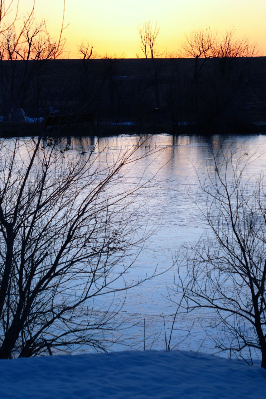"- The sound of distant chimes is probably the best way to describe the melody that is played. When the ice starts going out on a river, the song may be loud and boisterous. Certainly many describe it as a roar; however, when around a pond or lake, there is a different song. Each morning there may be a new sheet of ice that reappeared when the night time lows fall below freezing and the daytime highs are attempting to vanquish the frozen, rock hard reminder of winter. I prefer the soft jingle, or perhaps one may say it is the ""aquaorchestra"" that is playing for the morning sun in the gentle breeze.Oh, I am not claiming to have listened to this music for a lifetime, but I do remember when I started to lend an ear. I remember the spring well. And my friend helped me realize the beauty and freshness of the song. As we walked the shoreline, I must say that his fervor for life was helping me to overcome the enduring and nagging pain of death."