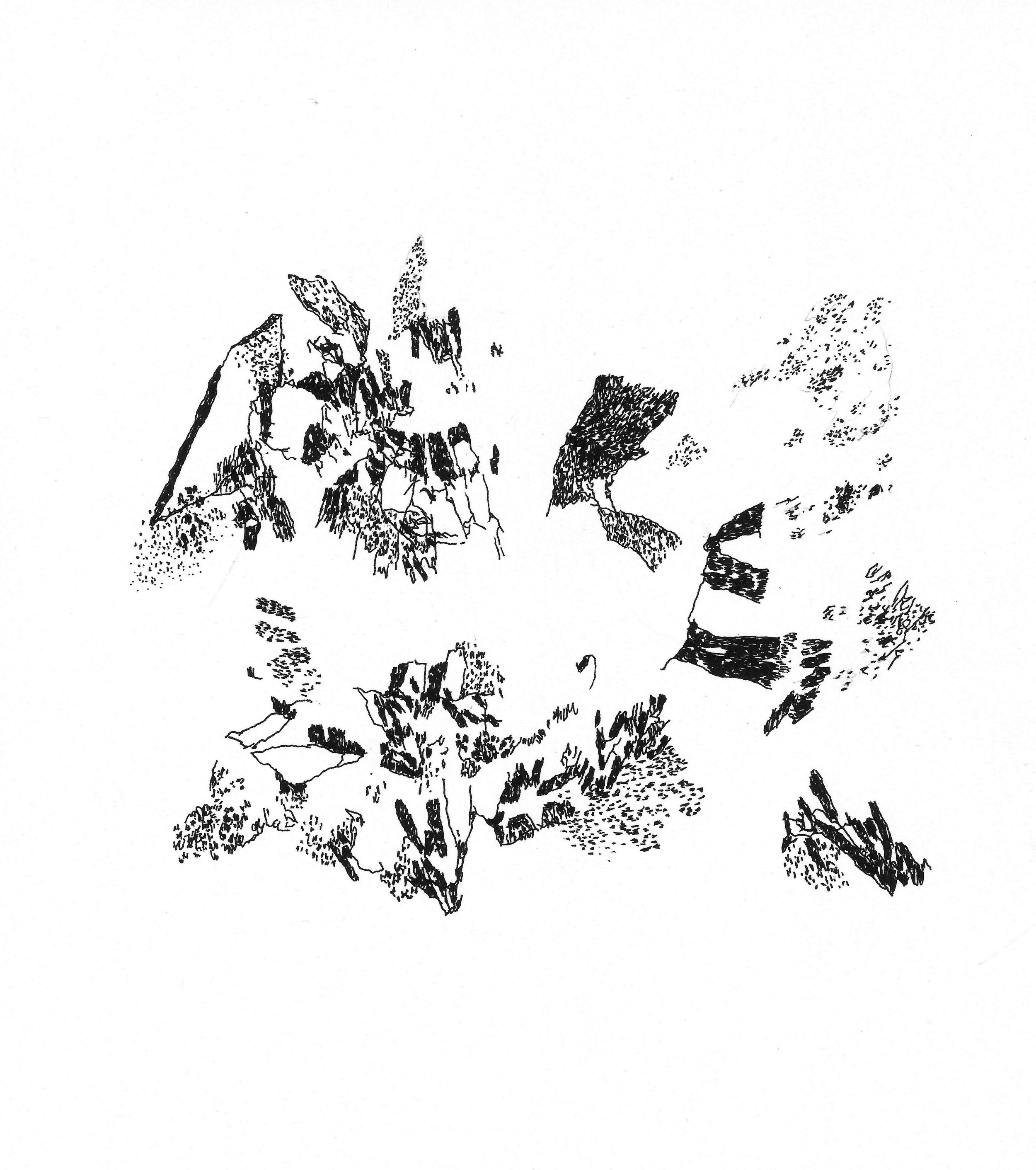 WIndow's Open Ink  10 x 9 in