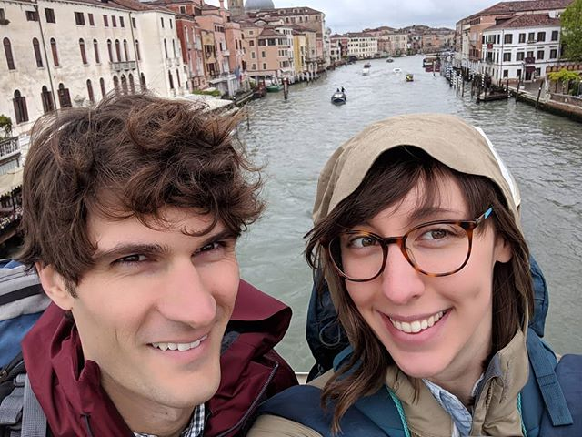 Seven years, three kitties, countless adventures, the good, the bad, and the weird. So thankful to be living life with such a loving, supportive, and adorable husband ❤️ #sevenyears . #lovehim #love #❤️ #venice #7yearanniversary