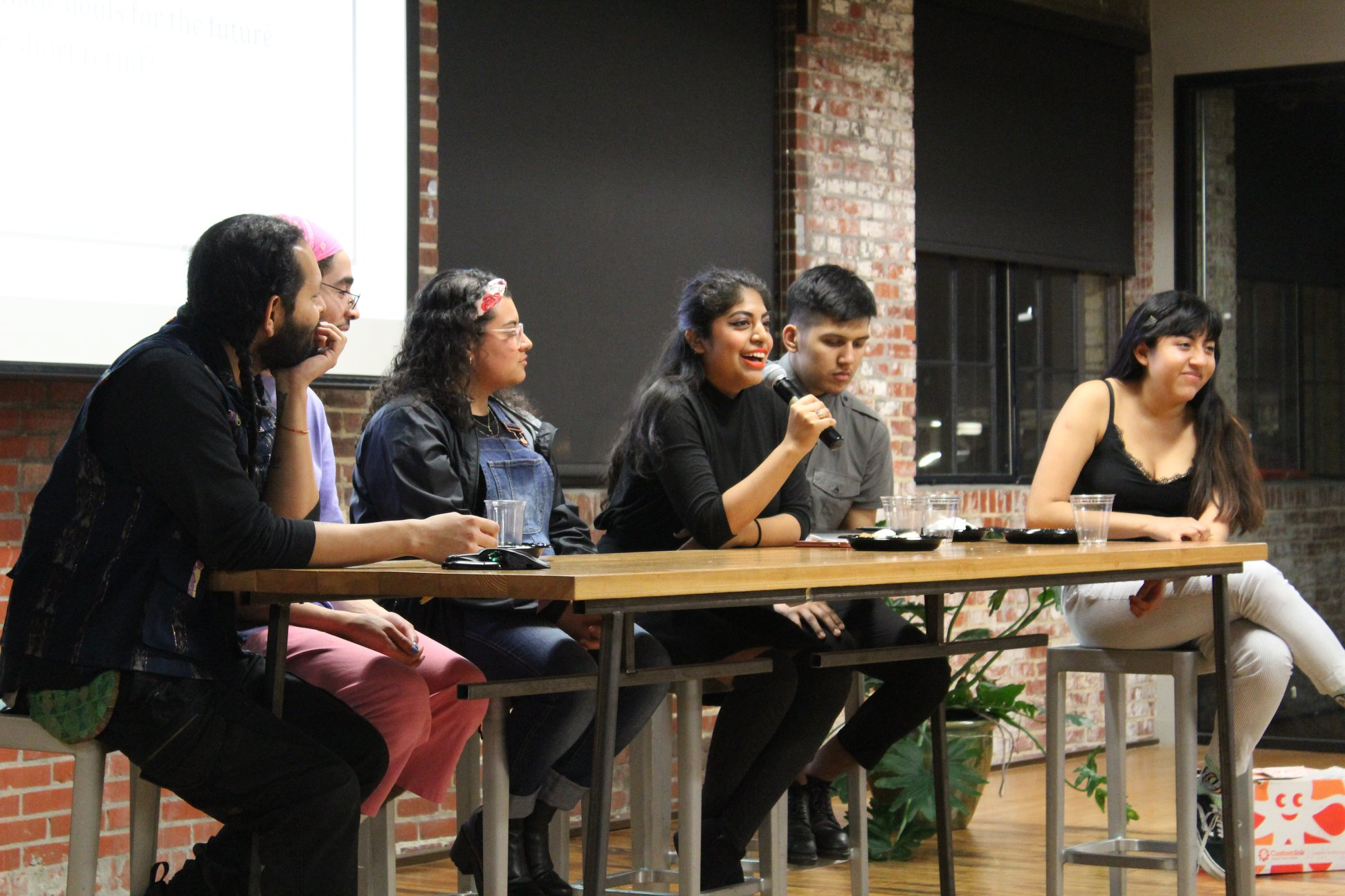 Latinxs in the Arts Panel -