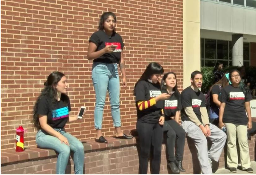 VCU immigrants and supporters rally as DACA deadline approaches -