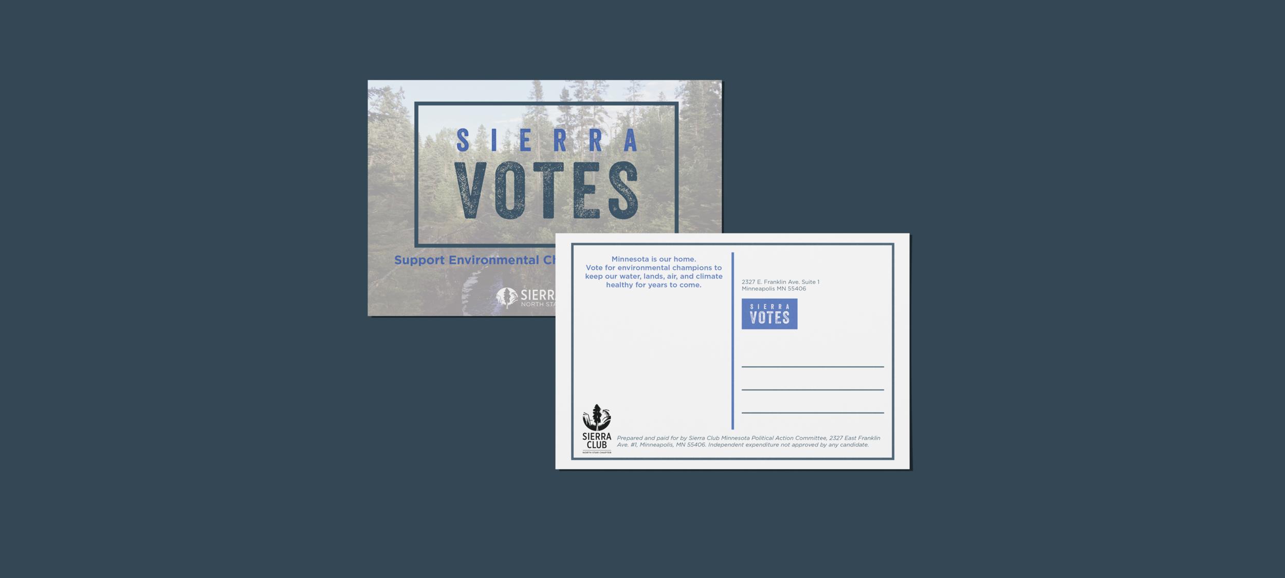 Sierra Votes Brand -