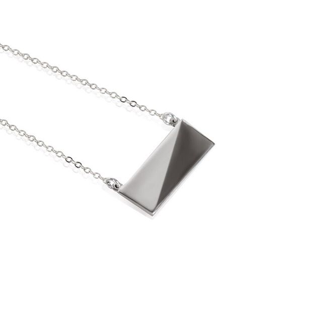 Our Small Flex Collection Necklace in Sterling Silver 💍 ...