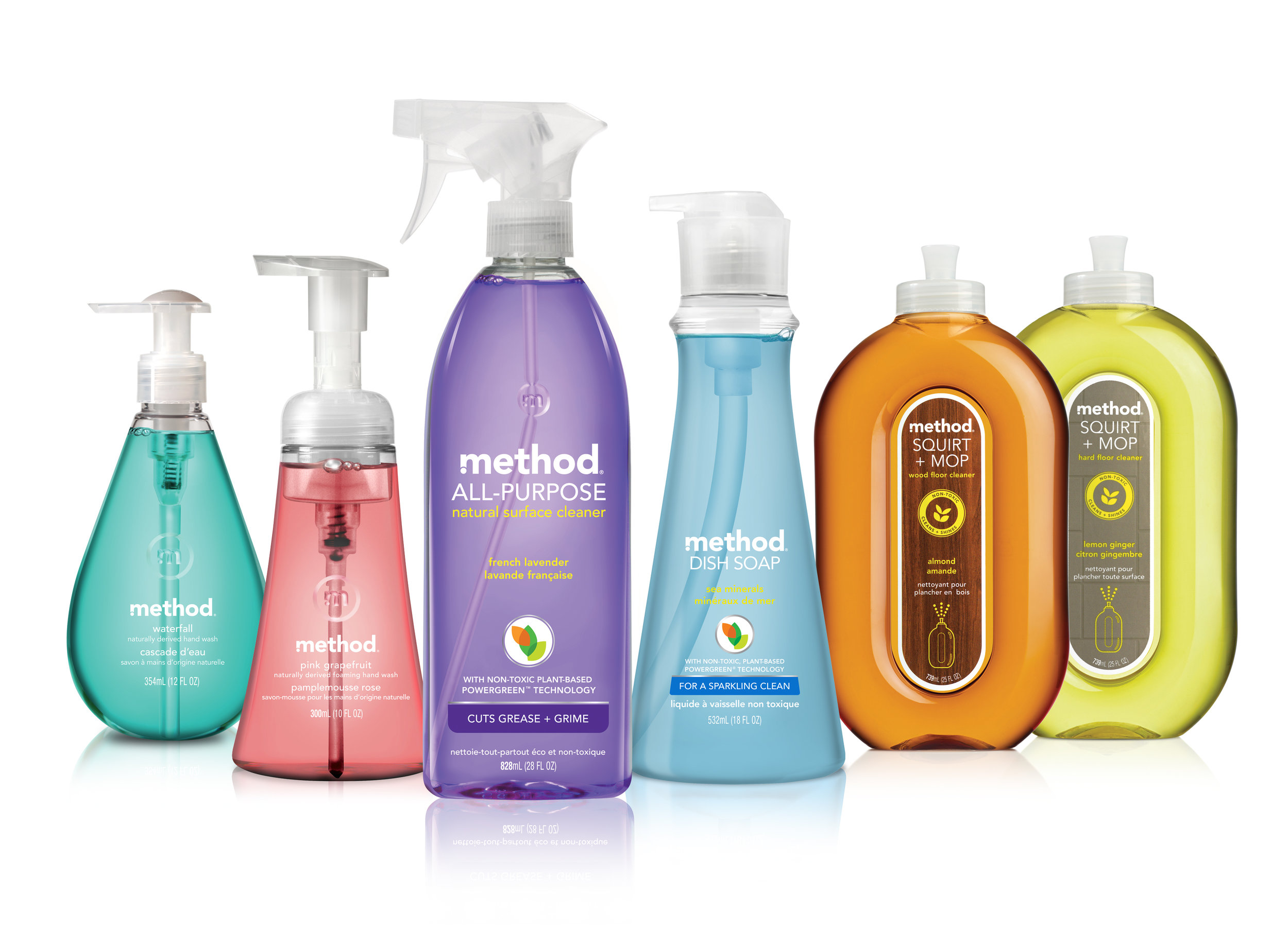 Method - This is a plant-based cleaning solutions that is green and environmental from the products up to the packaging and logistics. This is also perfectly formulated to make sure that it is safe, but is still a strong cleaning agent against germs and dirt.