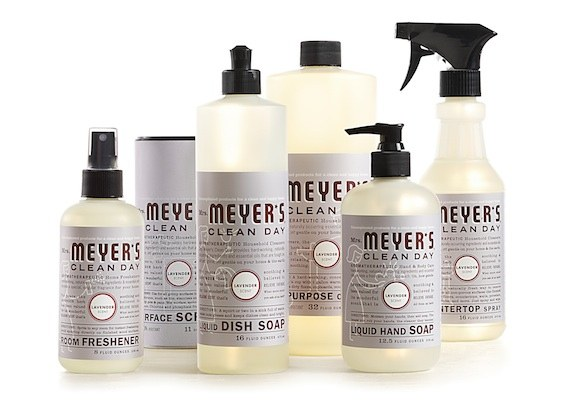 Mrs. Meyers Clean Day - This is a special green cleaning products that is incorporated with essential oils that will leave the whole apartment not just clean, but also fresh and fragrant!
