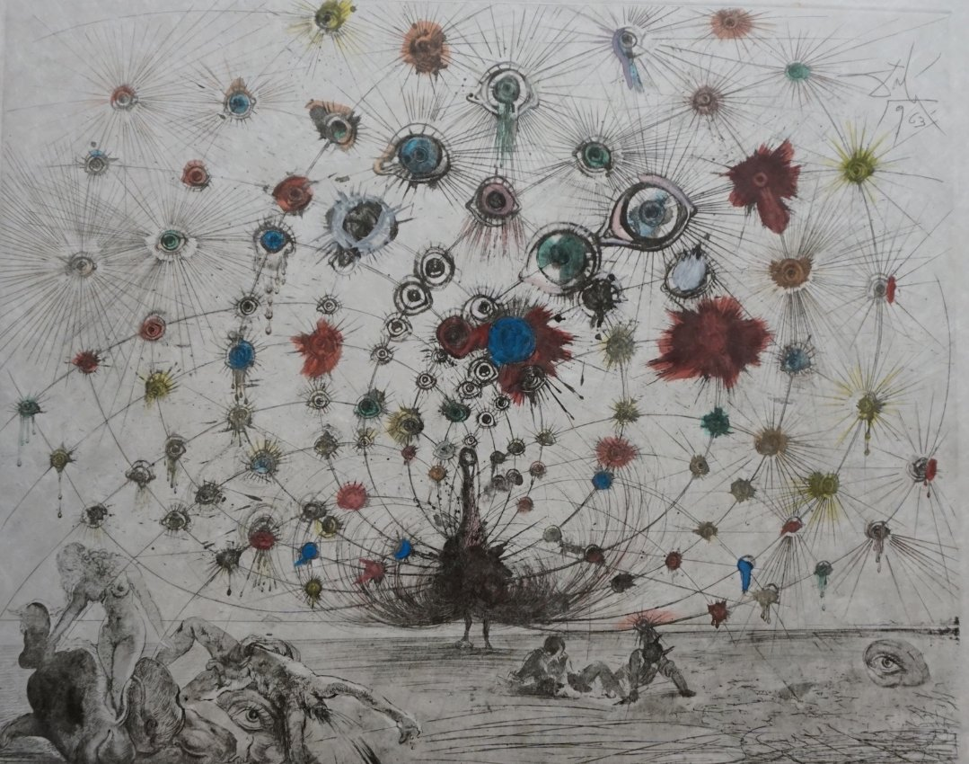 """Mythology Argus"" by Salvador Dali, 1963"