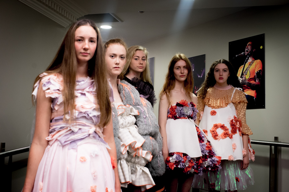 Tia Feng Collection backstage at iD Dunedin Fashion Week. Photo Credit, Sonia Sly