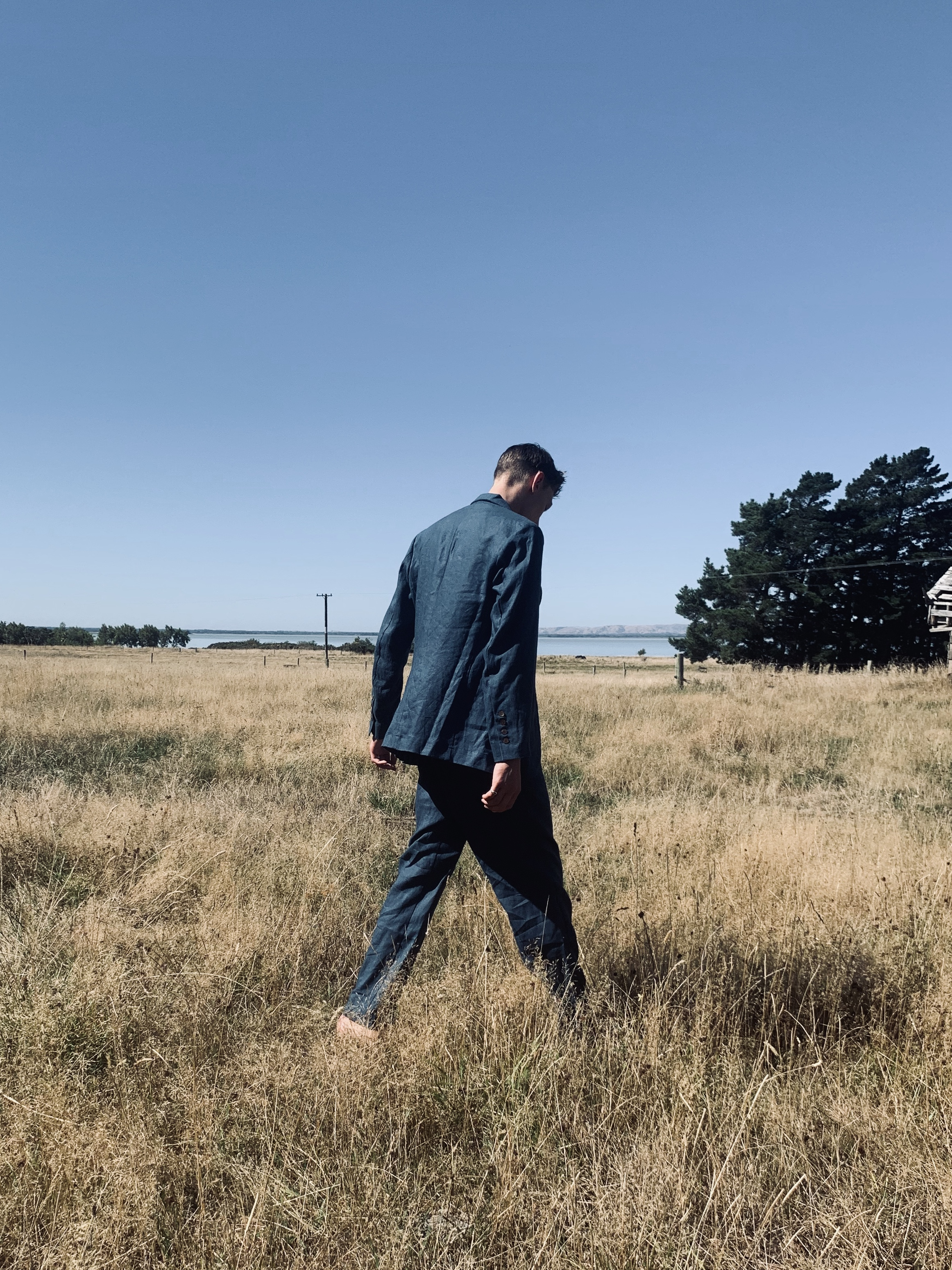 'Rangi' a menswear collection by New Zealand label, J'AKE. Image supplied.