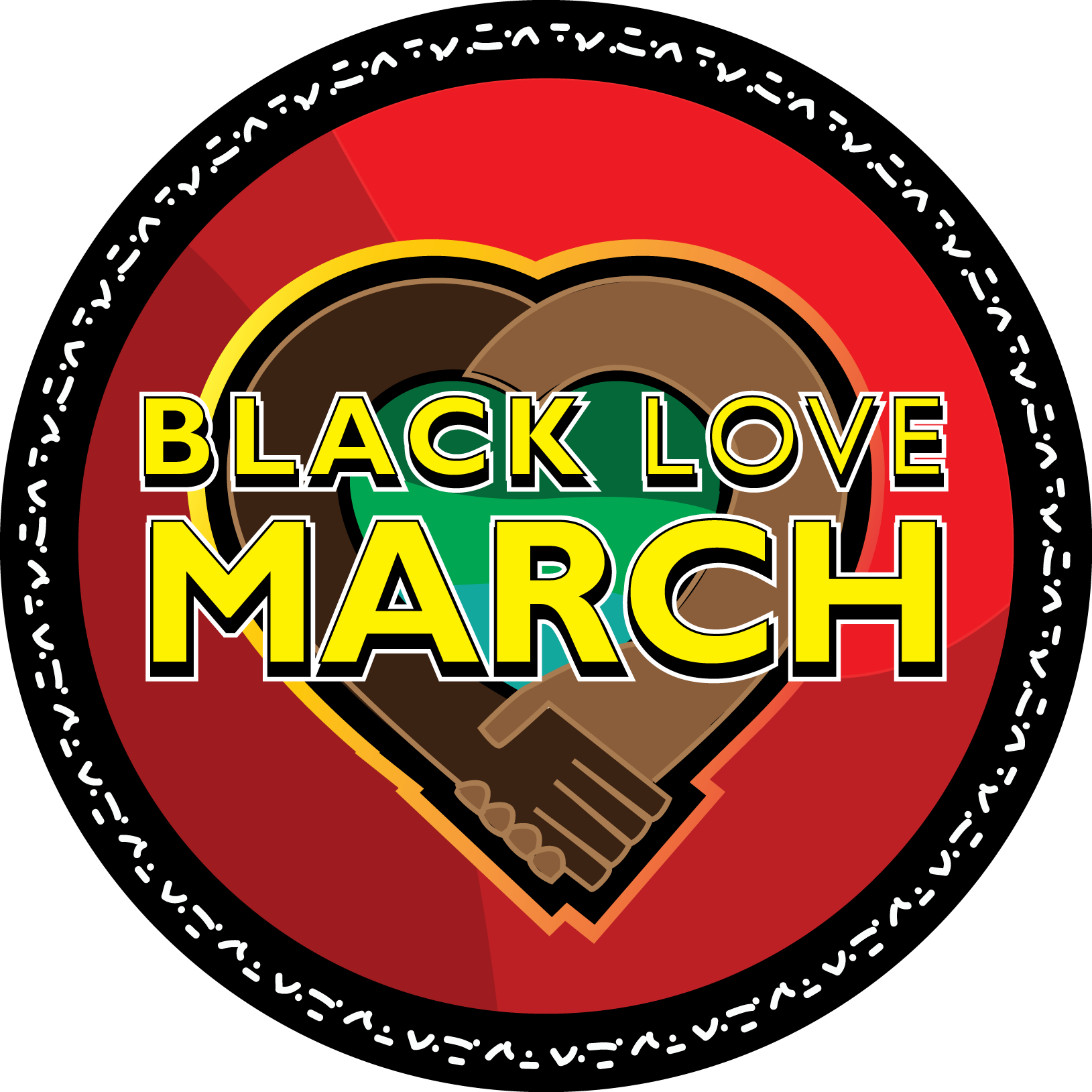 Black Love March Logo