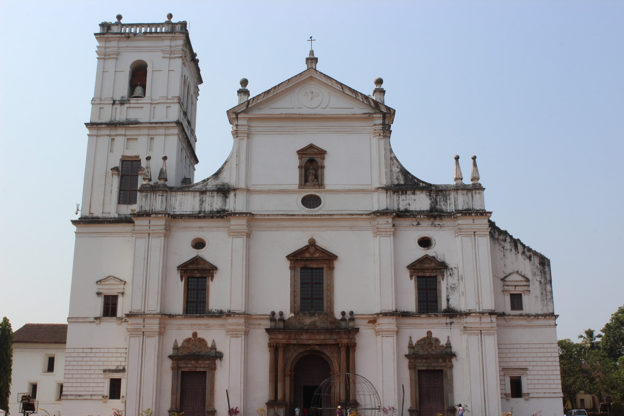 A 16th century church in the heart of Old Goa.