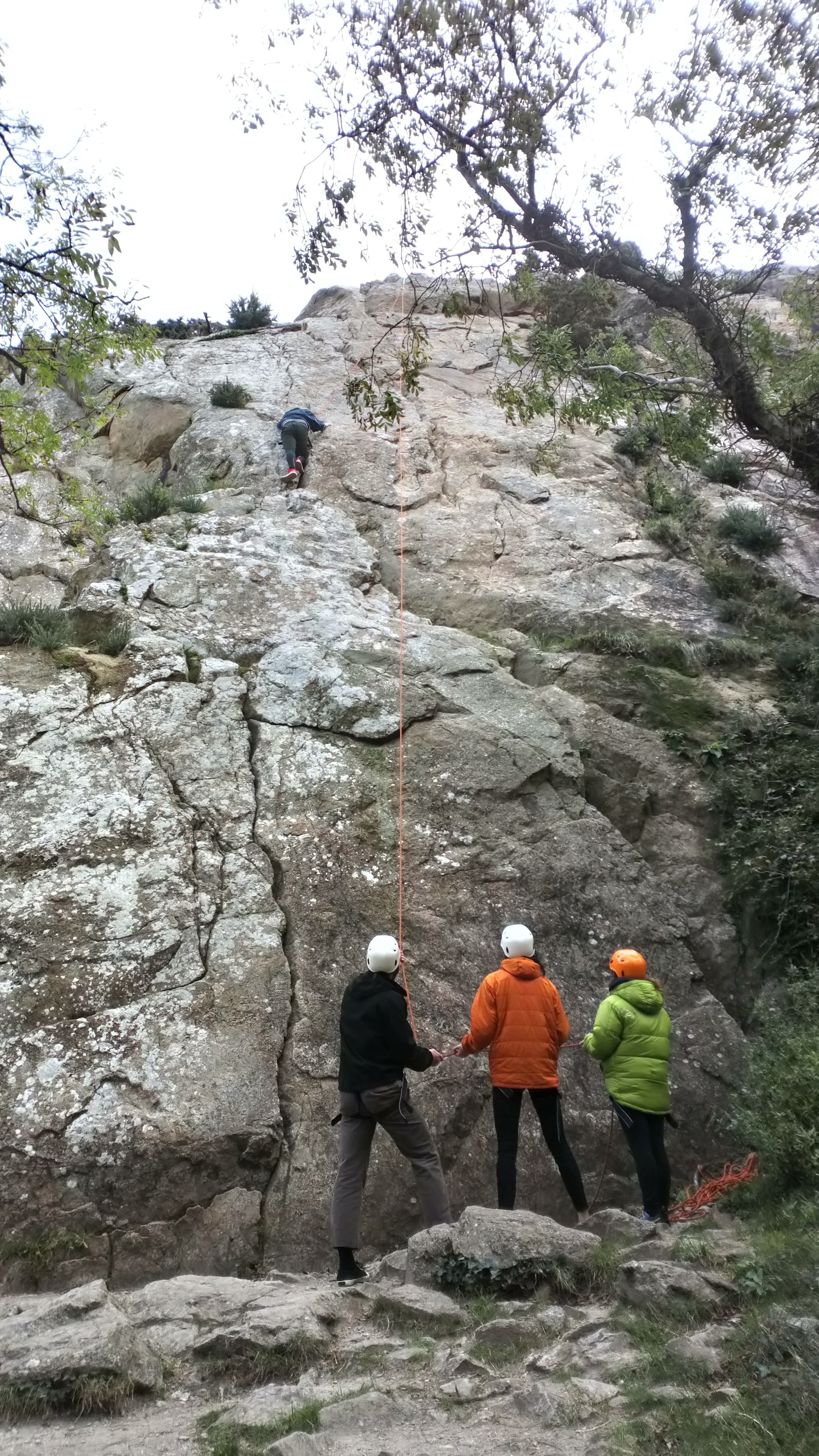 Introduction to Climbing sessions, Dalkey, Dublin